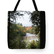 Falls In The Distance Tote Bag