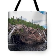 Falls On The Aguasabon River Tote Bag