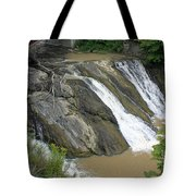Falls On The Coeyman Creek Tote Bag
