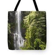 Falls On The Road To Hana Tote Bag