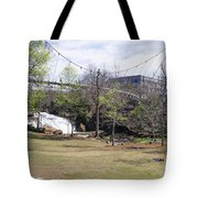 Falls Park On The Reedy Greenville Tote Bag