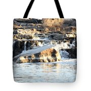 Falls Park Waterfalls Tote Bag