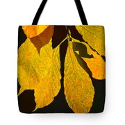 Fall's Purest Gold Tote Bag