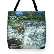 Falls River Park Tote Bag
