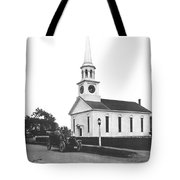 Falmouth Church In Hyannis Tote Bag