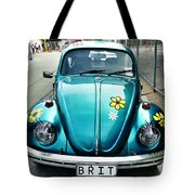False Eyelashes Tote Bag