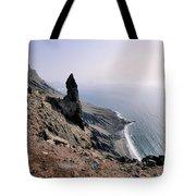 Famara Cliffs On Lanzarote Tote Bag