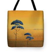 Famboyanes Azules Tote Bag