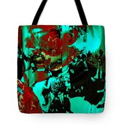 Famed For Its Groundbreaking Parties Tote Bag