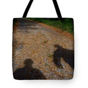 Familiar Shadows Tote Bag