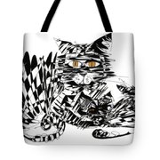 Family Cat Tote Bag