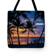 Family Journey Into The Night Tote Bag