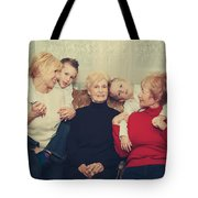 Family Tote Bag by Laurie Search
