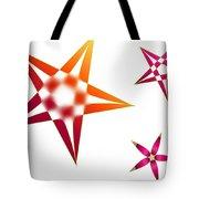 Family Of Stars Tote Bag