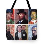 Famous Artist Self Portraits Tote Bag
