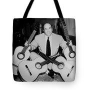 Famous Guitarist Carlos Montoya 1953 Tote Bag