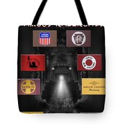 Famous Railroads Tote Bag