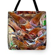 Fan Palm Trunk In Andreas Canyon In Indian Canyons-ca Tote Bag