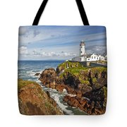 Fanad Lighthouse Donegal Ireland Tote Bag