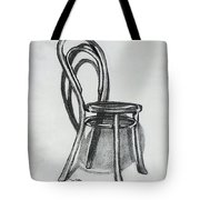 Fanback Parlor Chair Tote Bag