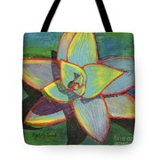 Fanciful Agave Tote Bag