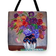 Fanciful Bouquet Tote Bag