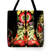 Fancy Boots Tote Bag