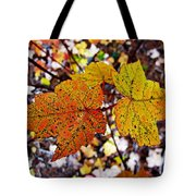 Fancy Fall Leaves Tote Bag