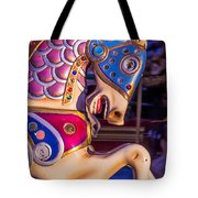 Fancy Horse Tote Bag by Garry Gay
