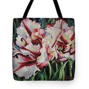 Fancy Parrot Tulips Tote Bag