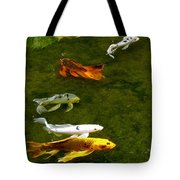 Fancy Tail Koi Tote Bag