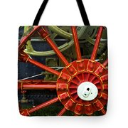Fancy Tractor Wheel Tote Bag