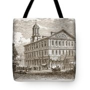 Faneuil Hall, Boston, Which Webster Tote Bag
