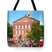 Faneuil Hall  Cradle Of Liberty Tote Bag