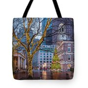 Faneuil Hall Holiday Tote Bag