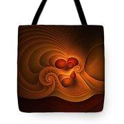 Fanfare Orange Tote Bag