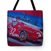 Fangio At Monaco 57 Tote Bag