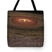 Fantacy Edge Of The World Tote Bag