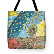 Fantastic Depiction Of The Solar System Tote Bag