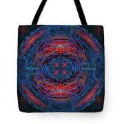 Fantasy Art Future Cosmic Discoveries Biological Planets N Galaxies Recreating N Multiplying Backgro Tote Bag