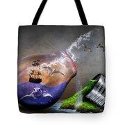 Fantasy Bulb Tote Bag