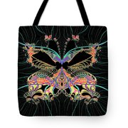 Fantasy Butterfly Tote Bag