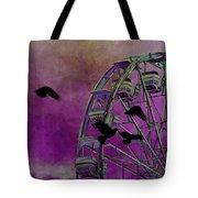Fantasy Ferris-wheel Tote Bag