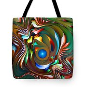 Fantasy Flower 3 Tote Bag