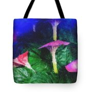 Fantasy Flowers Pastel Chalk 2 Tote Bag