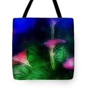 Fantasy Flowers Traveling Pigments Hp Tote Bag