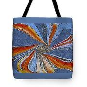 Fantasy In Blue Tote Bag