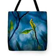 Fantasy In Blue Tote Bag