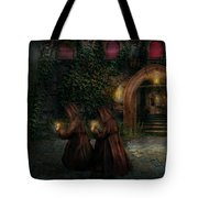 Fantasy - Into The Night Tote Bag by Mike Savad