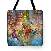 Fantasy Island Tote Bag